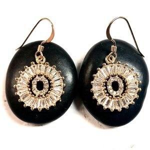 Initial O Earrings, Letter O, Personalized O, Boho